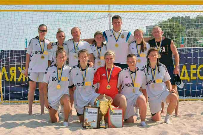Уманські «Пантери» вибороли звання чемпіонів України з пляжного футболу