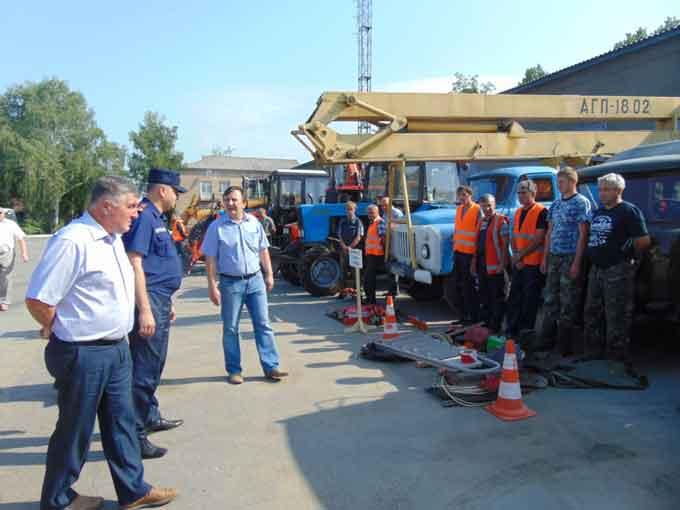 Стан виконання заходів цивільного захисту у Звенигородському районі обмежено відповідає вимогам