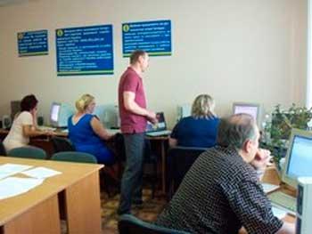 Безробітних Уманщини навчали комп'ютерної грамотності