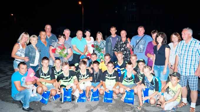 Городищенські футболісти зайняли третє місце у першості ВФСТ «Колос»