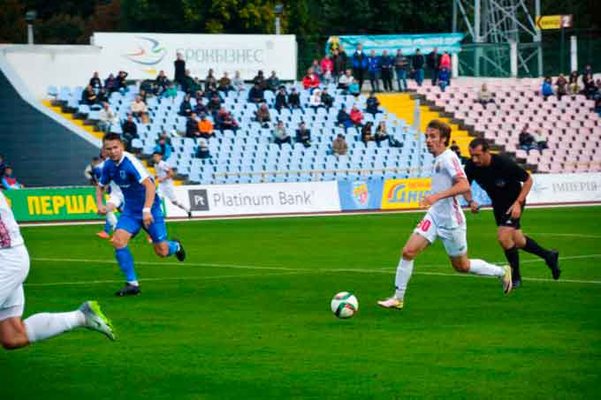 Завтра «Черкаський Дніпро» зіграє з ФК «Миколаїв»