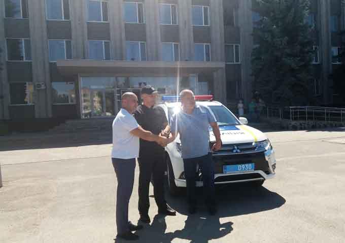 Смілянські правоохоронці отримали новий службовий автомобіль