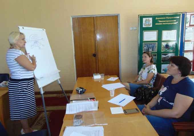 Семінар-тренінг з учасниками АТО та дружинами бійців відбувся у Звенигородці