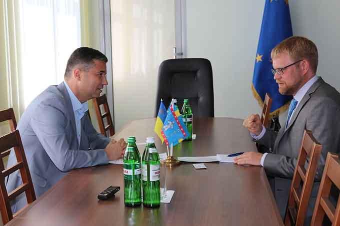 Умань відвідав Посол Швеції в Україні