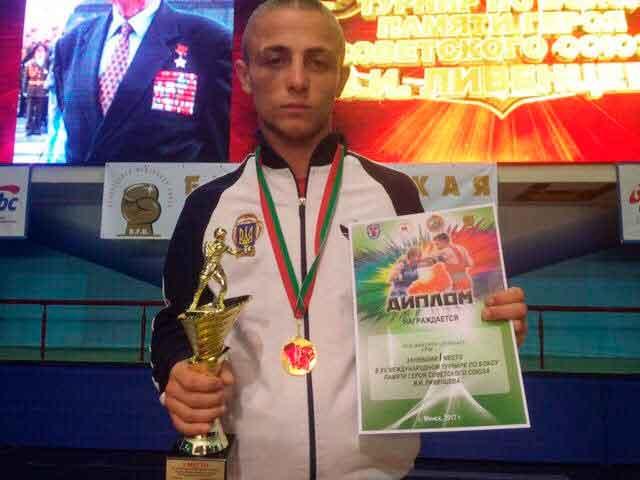 Уманчанин успішно виступив на міжнародному турнірі з боксу