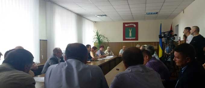 Смілянські активісти проти створення у місті Національного центру реабілітації інвалідів – учасників АТО