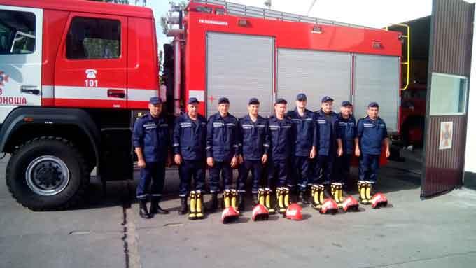 Рятувальники Золотоніщини отримали нове захисне спорядження