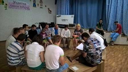 Тривають тренінгові зустріч для вихованців Смілянського дитячого будинку-інтернату, цього разу захід пройшов дуже насичено та надзвичайно емоційно