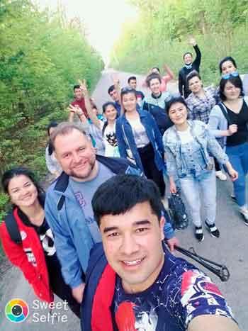 Студенти із Туркменістану літні канікули проводять в Умані