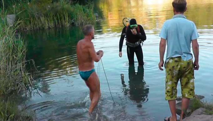 Впродовж доби на водних об'єктах області потонули 2 людини (відео)