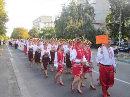 Шполяни виступили на Всеукраїнському фестивалі української народної пісні