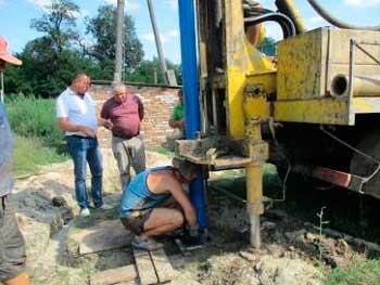 У Ліплявому пробурили додаткову свердловину для забезпечення водою мешканців хутору