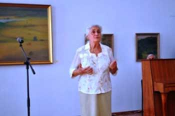 В художньому музеї представлена лірика народного художника України Тетяни Яблонської