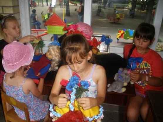 День бантиків відбувся у дитячому парку Шполи (фото)