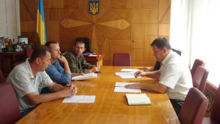 У Монастирищі відбулася нарада щодо виділення земельних ділянок учасникам АТО