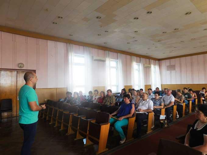 На Чорнобаївщині сільських спеціалістів вчили працювати із Prozorro