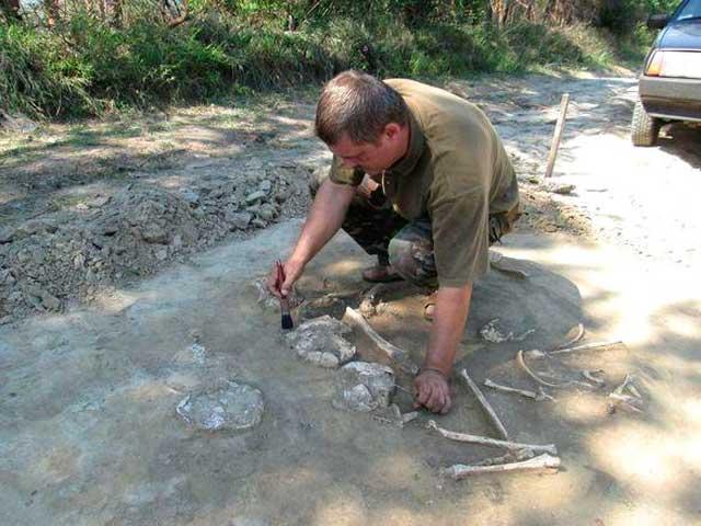 На Черкащині виявили поховання, якому більше 2,5 тисяч років