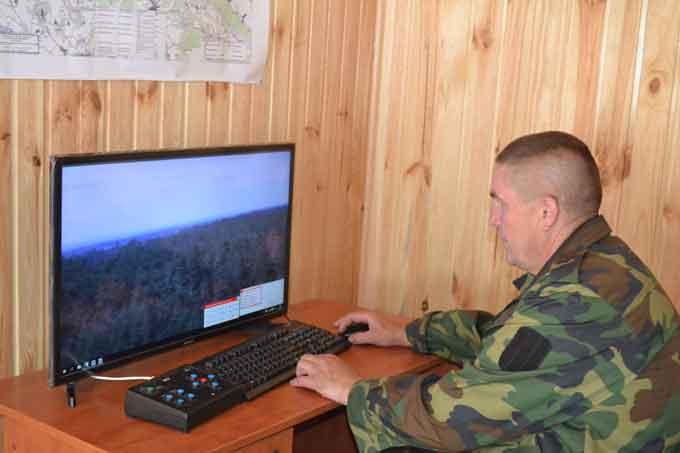 Хвойні ліси Черкащини під перехресним відеонаглядом 15-ти телевізійних систем спостереження (фото)