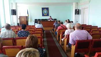 На Жашківщині комісія вирішувала земельні питання