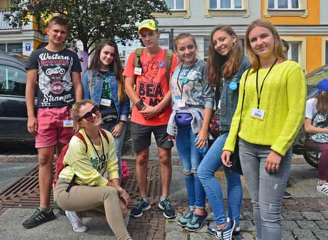 Десять канівських підлітків відвідали польське місто Члухів