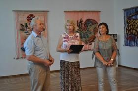 Виставка гобеленів Тетяни Сосуліної відкрилася у Черкаському обласному художньому музеї