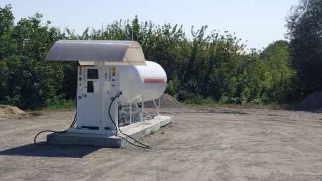 На Черкащині податкова міліція ліквідувала незаконну газову заправку