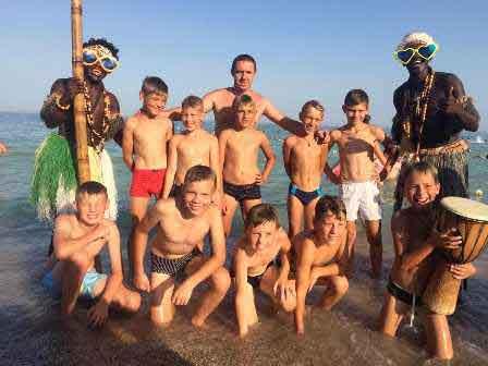 Юні ватутінські футболісти беруть участь у турнірі в Чорноморську