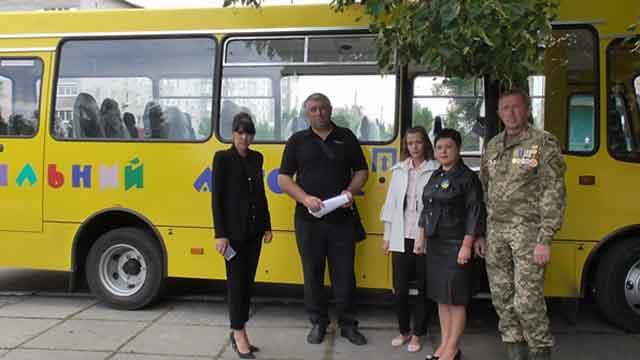 Дорогами Христинівщини їздитиме новий шкільний автобус «Атаман»