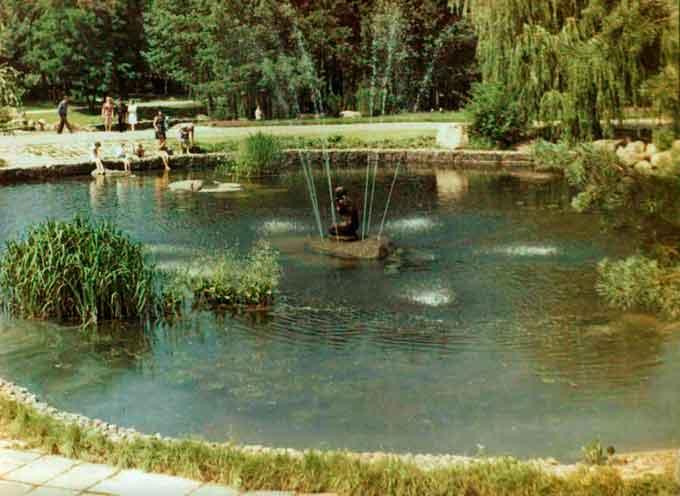 45 років тому у черкаському парку «оселилась» Русалонька (фото)