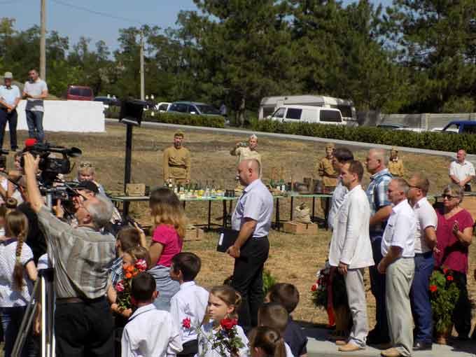 24 серпня 2017 року делегація від Кам'янського району на чолі з головою районної ради Сергієм Сундуковим взяла участь в урочистих заходах, присвячених відкриттю відновленого меморіального комплексу в селі Цариград Дрокієвського району Республіки Молдова.