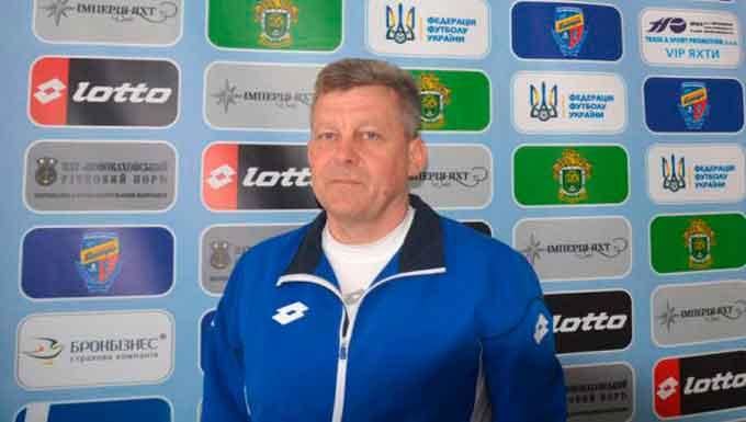 Олександра Кирилюка визнано найкращим тренером 8-го туру Першої ліги