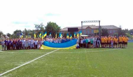 Перший кубок з футболу розіграли об'єднані громади Черкащини