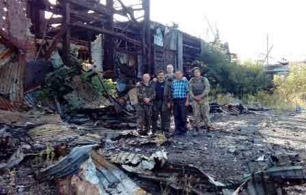 Волонтери зі Шполи вкотре відвідали зону АТО