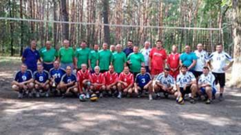 Відбувся турнір з волейболу серед ветеранів «Кубок Дубовика»