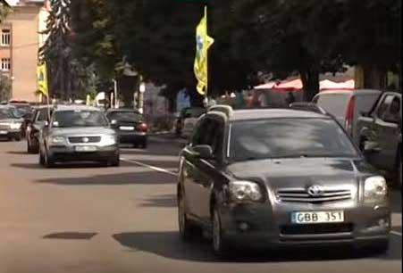 У Смілі відбулася акція за доступне розмитнення автомобілів (відео)