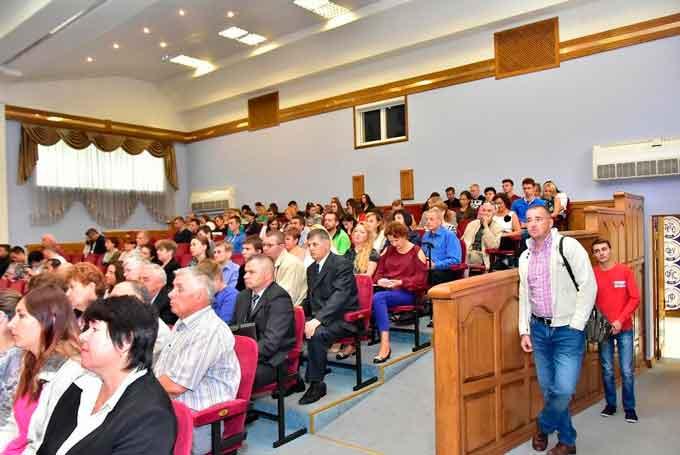 У ЧДТУ відбулися урочисті збори з нагоди початку нового навчального року