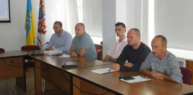 У Черкаській мерії заслухали підприємців, не обійшлося без скандалу (відео)