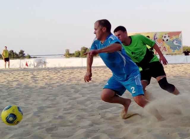 У неділю відбудеться останній тур чемпіонату Черкаської області з пляжного футболу