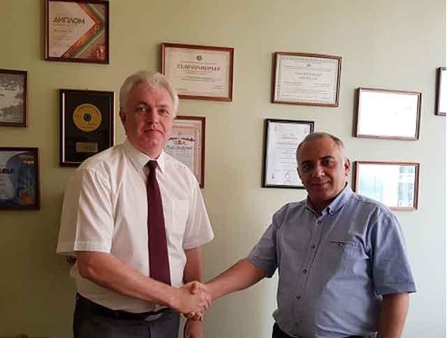 Черкаська ТПП налагодила співпрацю з вірменським LOGOS EXPO Center