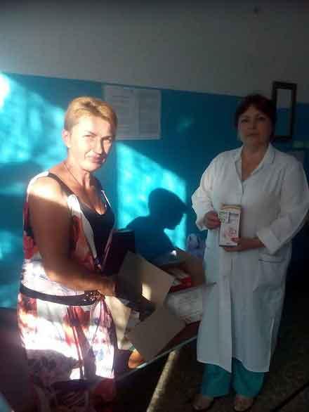 Чигиринській лікарні благодійники передали ліки від гепатиту