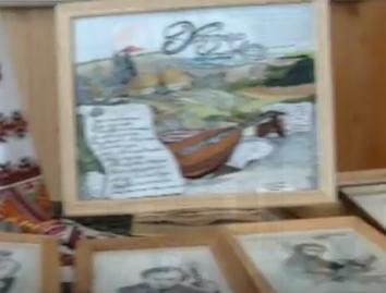 Черкащанка вишиває портрети Шевченка (відео)