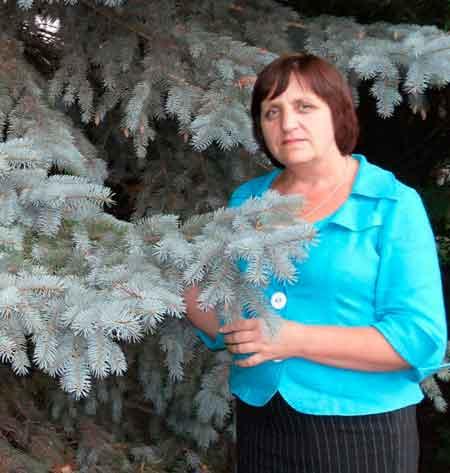 Наталія Шевчук – в обіймах кам'янських лісів