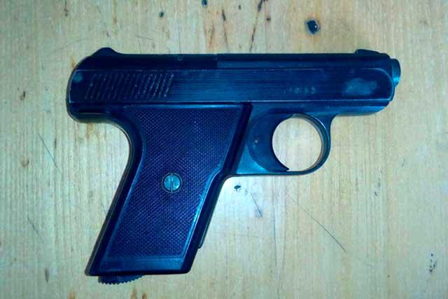 На Звенигородщині поліцейські вилучили у чоловіка зброю (фото)