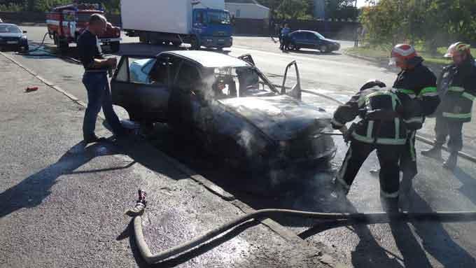 За добу в області горіли два автомобілі