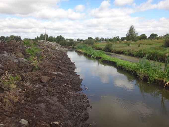 Улюблена фірма губернатора активно косить гроші на очистці мертвої річки