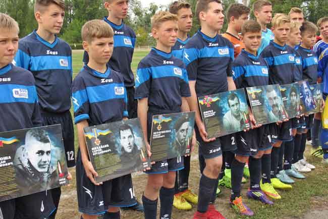 У Каневі пройшов футбольний турнір пам'яті героїв АТО