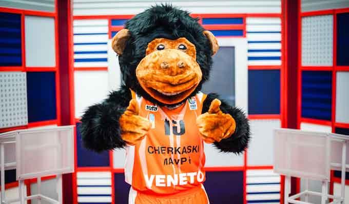 У «Черкаських Мавп» з'явився новий талісман (фото)