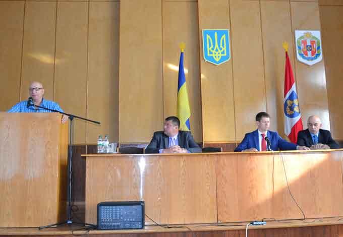 Відбулася позачергова сесія Лисянської районної ради