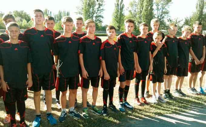 Вихованці Матусівської ДЮСШ - бронзові призери міжобласного турніру з футболу