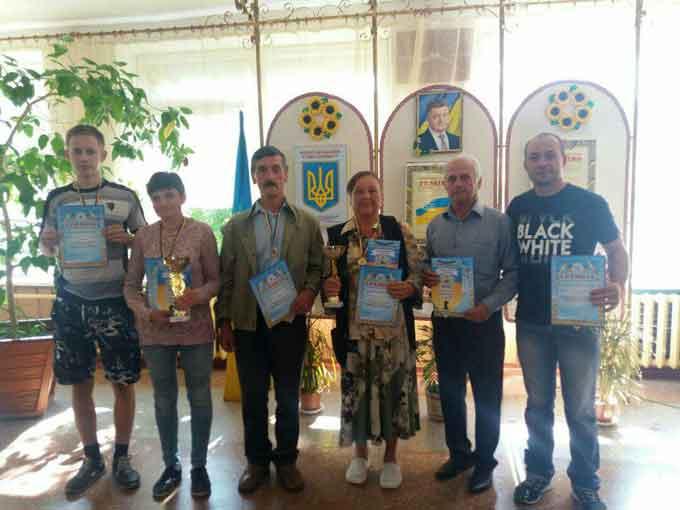 Чемпіонат району з шахів та шашок відбувся у селі Чорнявка